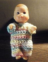 EASY FREE CROCHETED DRESS PATTERNS FOR 10 INCH BABY DOLLS