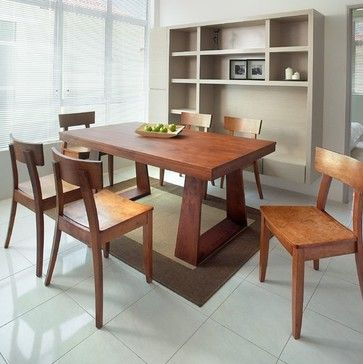 gold sparrow emily dining table modern dining