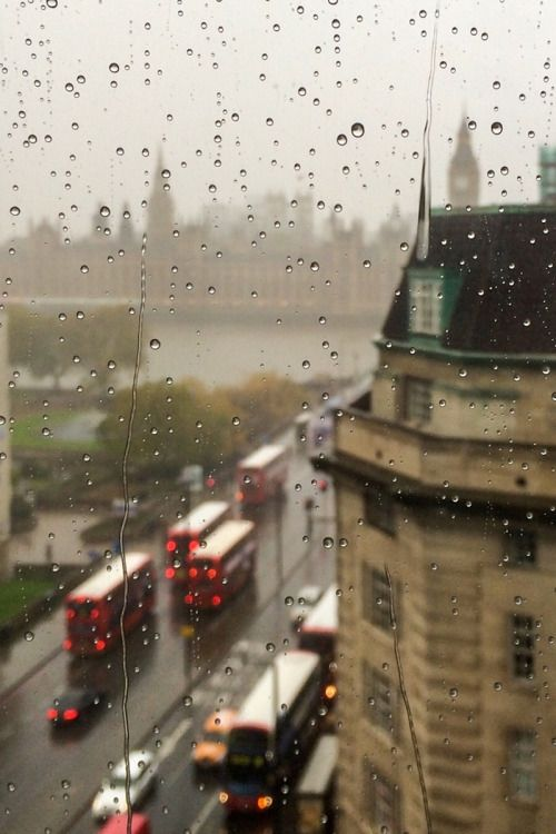 Rainy London | ( by George Vlachos )