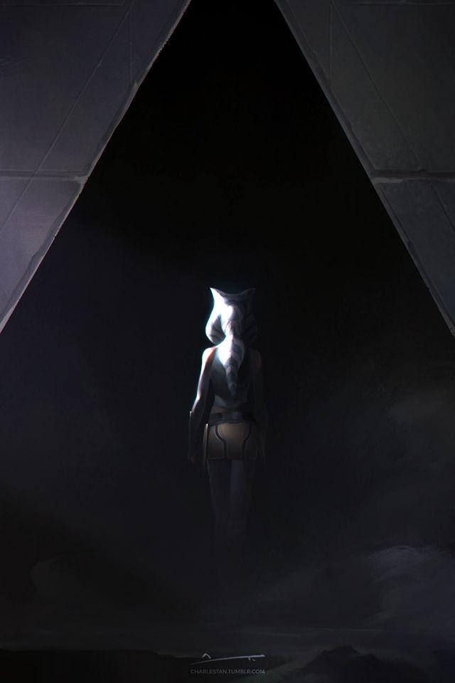 Асока Тано,Clone Wars,SW сериалы,Звездные Войны,Star Wars,фэндомы,Star Wars Rebels,charlestanart