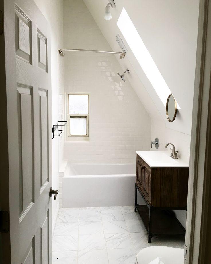 17+ Best Ideas About Attic Bathroom On Pinterest
