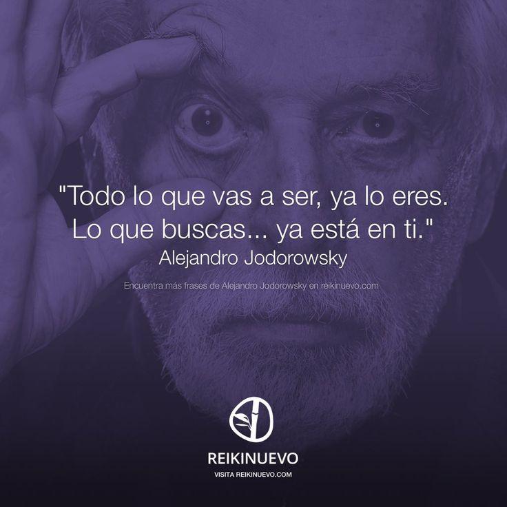Lo eres, lo tienes... (Alejandro Jodorowsky) http://reikinuevo.com/lo-eres-lo-tienes-alejandro-jodorowsky/