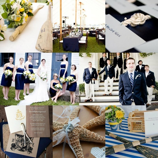 2013 Wedding Trends-Nautical Wedding Invitations and Wedding Ideas - love the knots