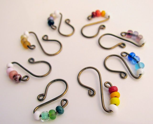 Delights-Gems: Let's Make Stitch Markers!!!                                                                                                                                                                                 More