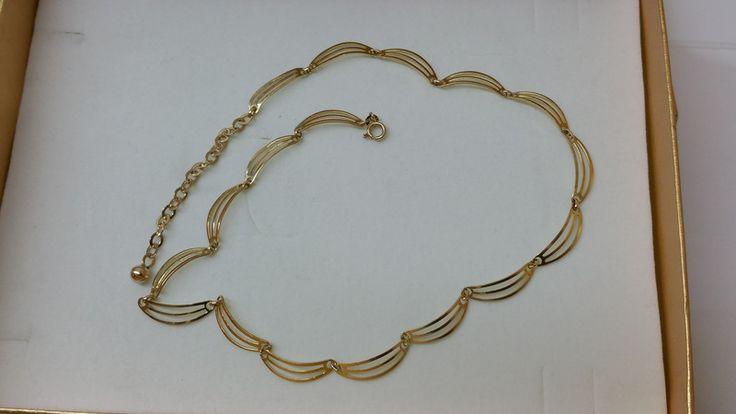Vintage Halsschmuck - Goldkette 333 Halskette Collier 50iger Jahre GK111 - ein…