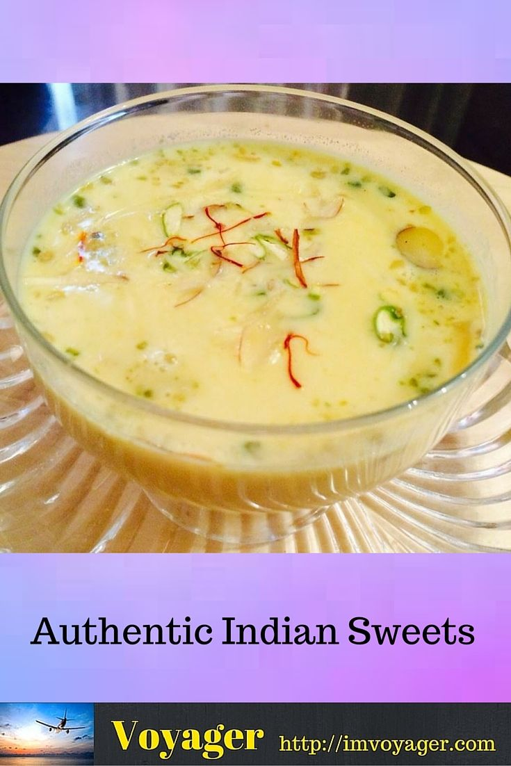 Authentic Indian Sweets – An ecstasy for the tongue