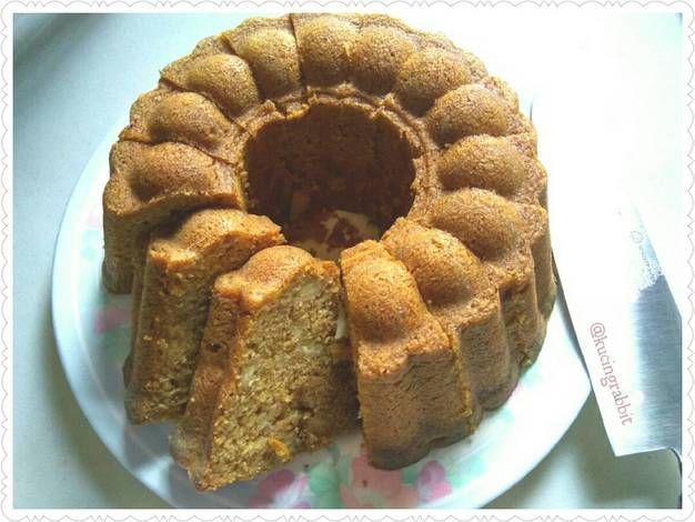 Banana Sponge Cake Simple