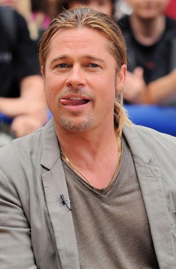 brad pitt | Brad Pitt promotes World War Z on Good Morning America in New York ...