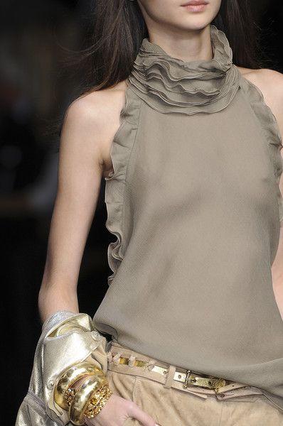 Ermanno Scervino: Ruffle, Woman Fashion, Fashion Style, Milan Fashion Week, Spring 2009, New Fashion, Fall Fashion, Closet, Ermanno Scervino