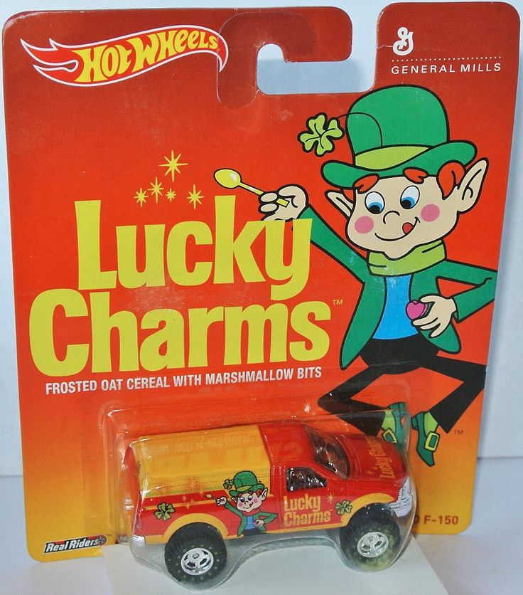 Hot Wheels General Mills - FORD F-150 PICKUP * LUCKY CHARMS * - 1:64