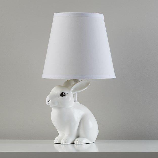 White Rabbit Lamp Bunny Lamp Kids Floor Lamp Kids Table Lamp