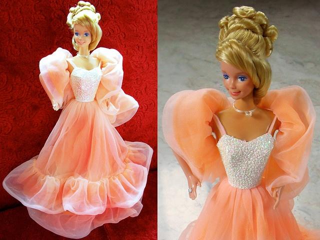 1984 peaches and cream barbie