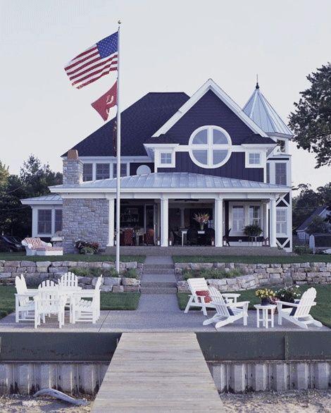 Prep club / karen cox. .American East Coast style beach house