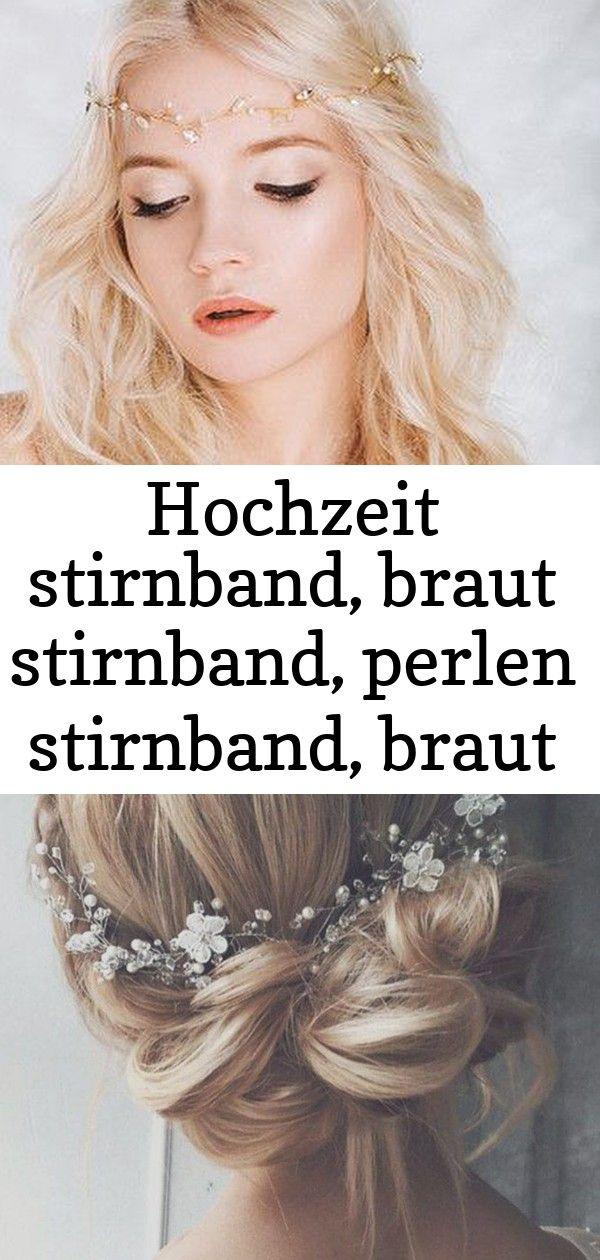 hochzeit stirnband, braut stirnband, perlen stirnband
