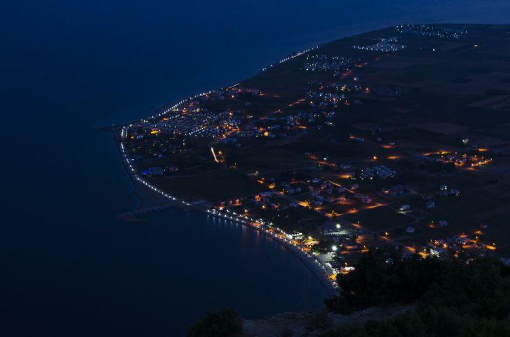 Bodrum'dan nefis bir gece manzarası