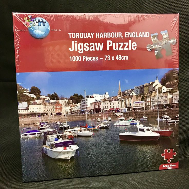 Torquay Harbour England Jigsaw Puzzle 1000 Pieces puzzle world new & sealed