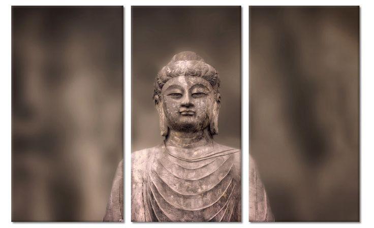 Drieluik boeddha schilderij Buddha Inspiration