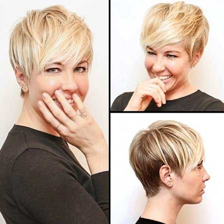 20 Long Pixie Hairstyles | Pink and Milk