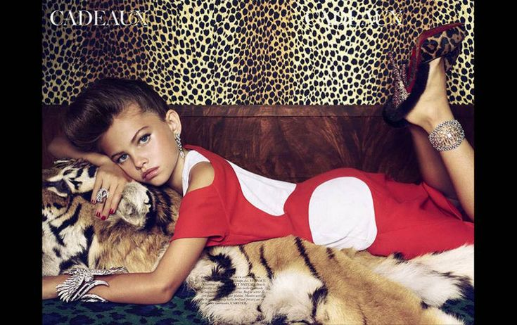 Polémico reportaje publicado en Vogue Francia en 2011.