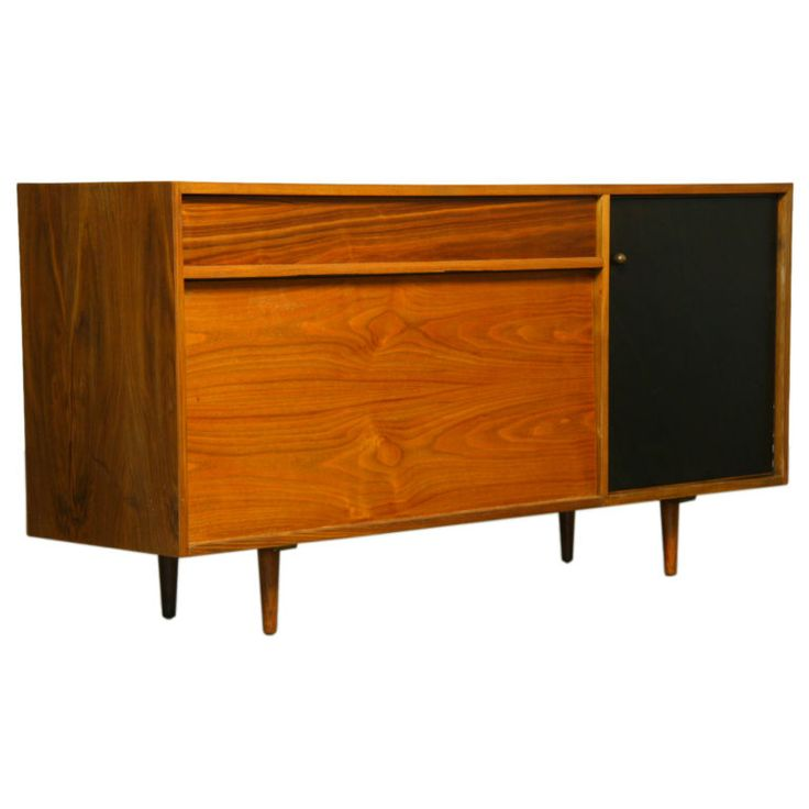A Walnut Cabinet By Milo Baughman For Glenn Of California. Modern Furniture  ...