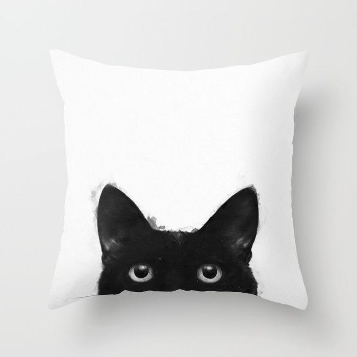 Are you awake yet? Throw Pillow.