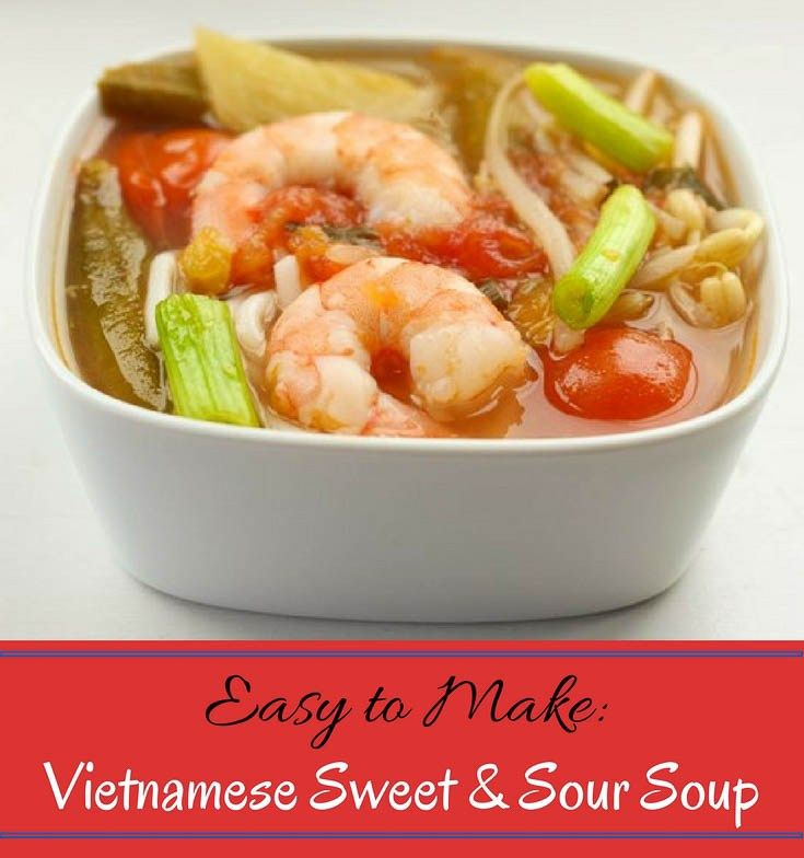 This is a simplified but flavorful version of my mom's Vietnamese Sweet and Sour soup which can be ready in under 30 minutes. Simple and fast to prepare.
