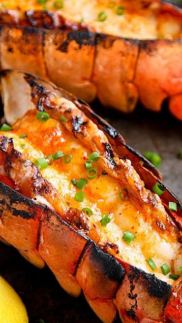 ♨Grilled Lobster Tails♨