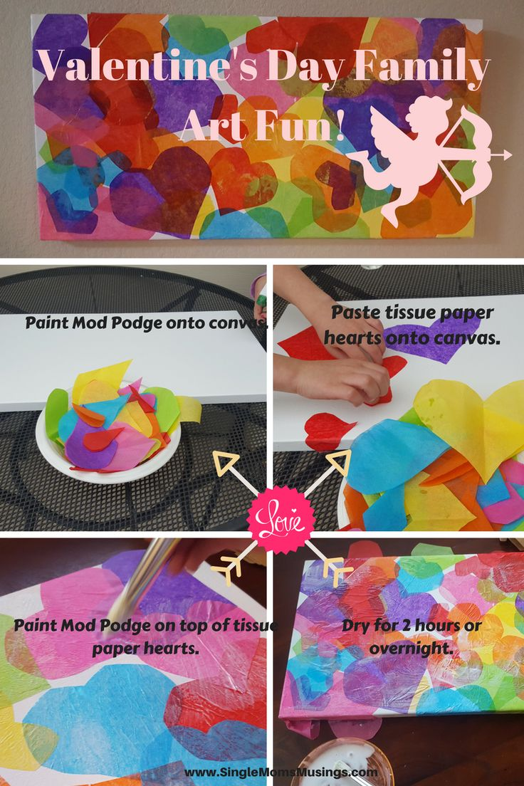 Easy & Fun Valentine's Day art project for the family!