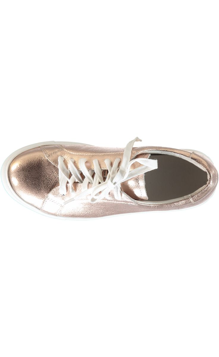 Flash Dance Sneaker - Rose Gold #minxfootwear #shoes #sneakers #rosegold #style #fashion #trend #nzdesign #mirrormirrorboutiquehanmersprings
