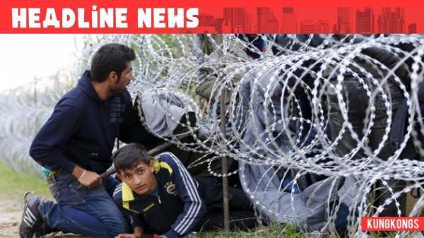 Gelombang Imigran di Tanah Eropa Ribuan Pengungsi Tiba di Austria