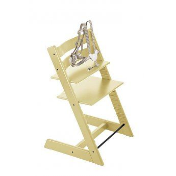 Stokke Chaise Haute Tripp Trap Stokke/Stokke Tripp Trapp High Chair, Jaune Blé/Wheat Yellow