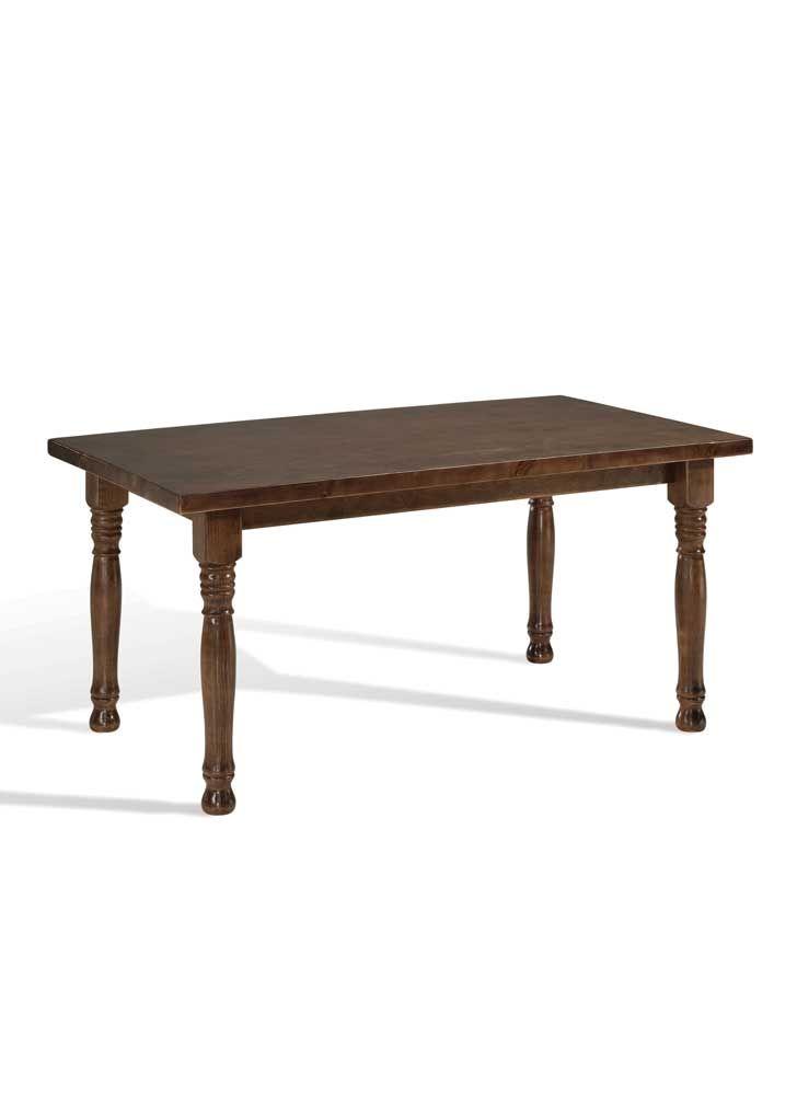 Mesa de madera con pata torneada en varias medidas y acabados a elegir. #mesas #mesadiseño #diseño #mesasmadera #mesamaderabarata #puntogar