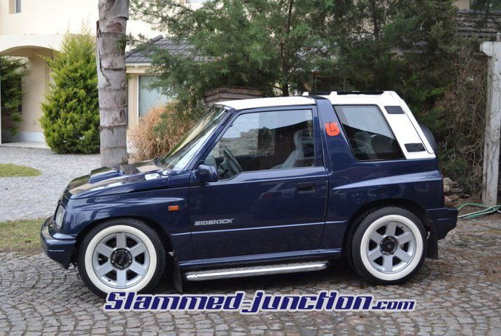 Slammed+Suzuki+Samurai | It's been cruising through the ...  Slammed+Suzuki+...