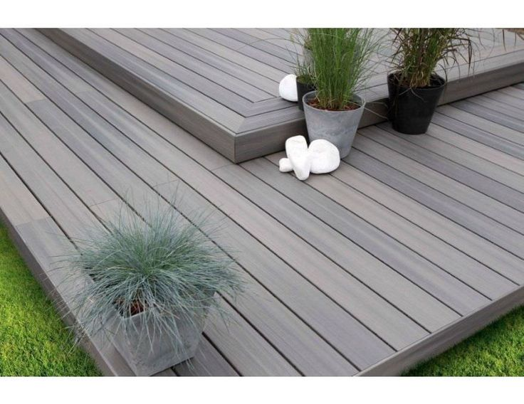Best 25 composite decking ideas on pinterest - Latte composite terrasse ...