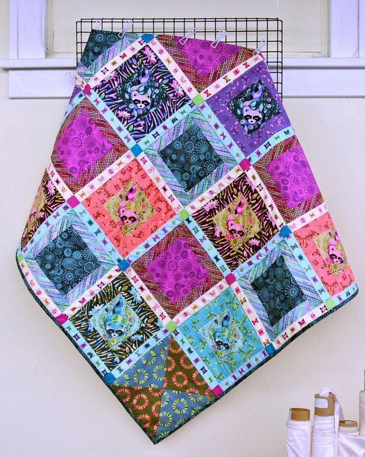 210 best Tula pink images on Pinterest   Quilt block patterns ... : tula pink houndstooth quilt pattern - Adamdwight.com