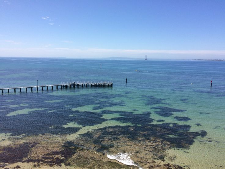 Beach in port Arlington Melbourne, Victoria Australia