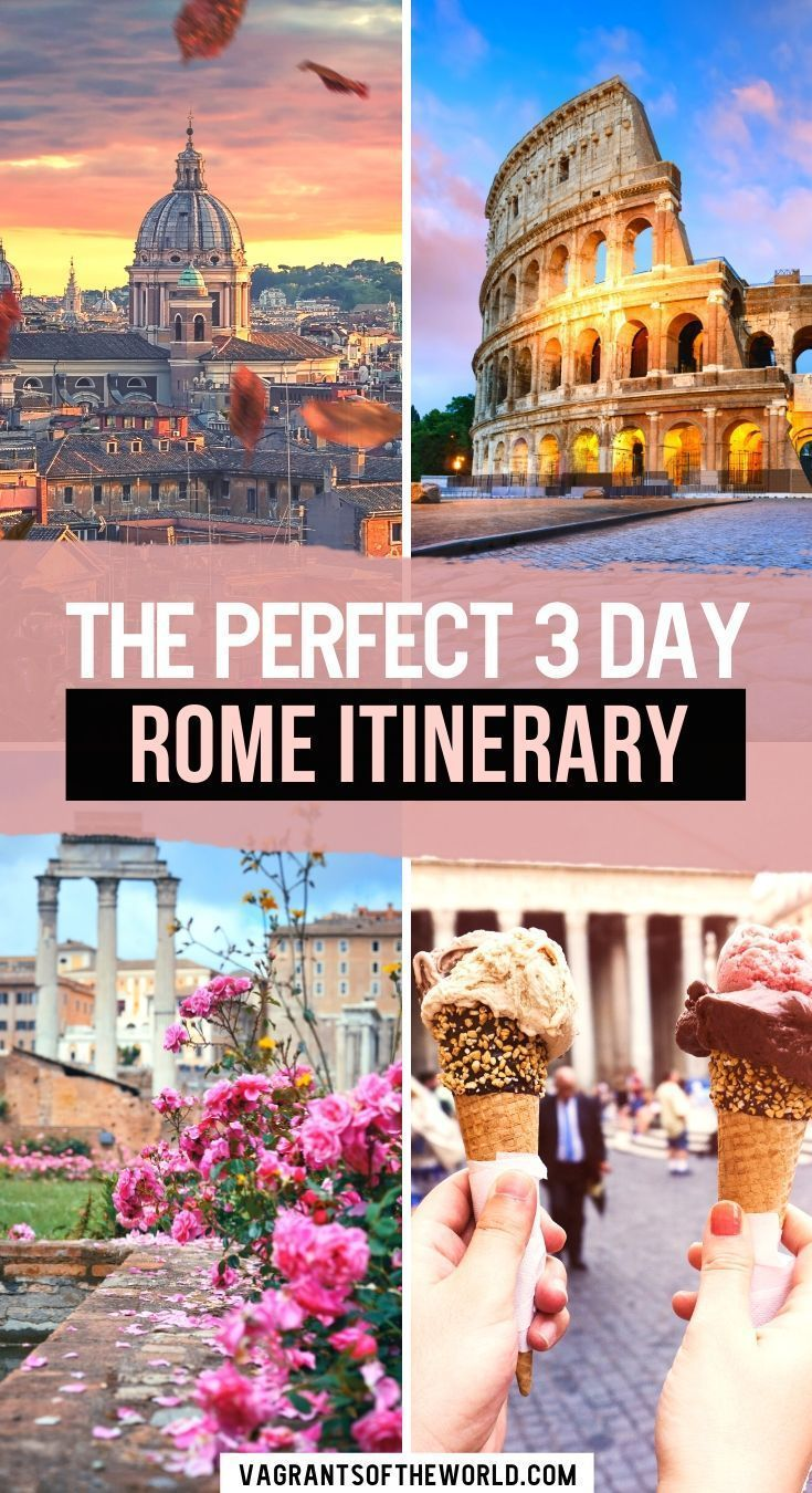 Rome Travel Guide with The Perfect 20 Day Rome Itinerary in 20 ...