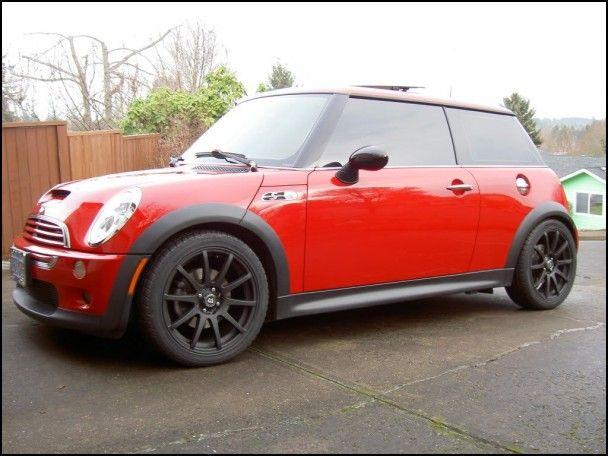 Mini Cooper 17 Inch Wheels
