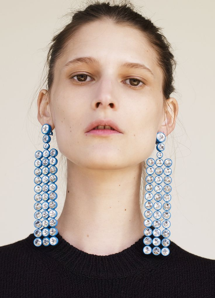 Still craving with these mega earrings from Celine SS2015.