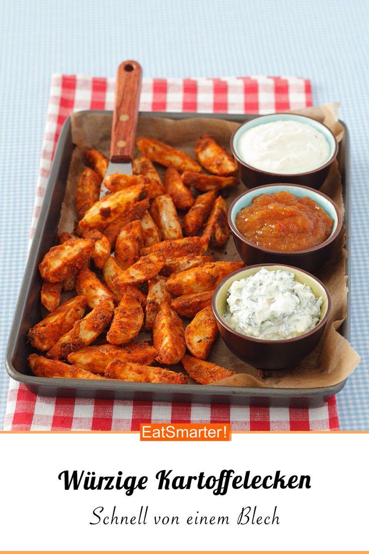 Oven vegetables: Spicy potato wedges – Die besten Ofengemüse-Rezepte