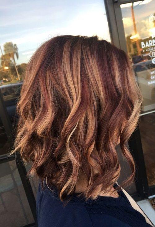 25 Best Hair color Ideas for Medium Hairs 2018 - 2019 ...