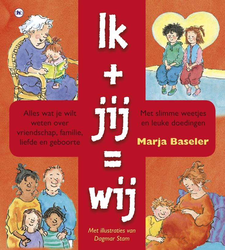 """L E N T E K R I E B E L S Het is weer de Week van de Lentekriebels! Op de basisschool elke dag les over """"#relaties en #seksualiteit In het boek Ik + Jij = Wij staat alles beschreven wat je wilt weten over liefde, vriendschap en geboorte! 7+ #seksuelevoorlichting"""