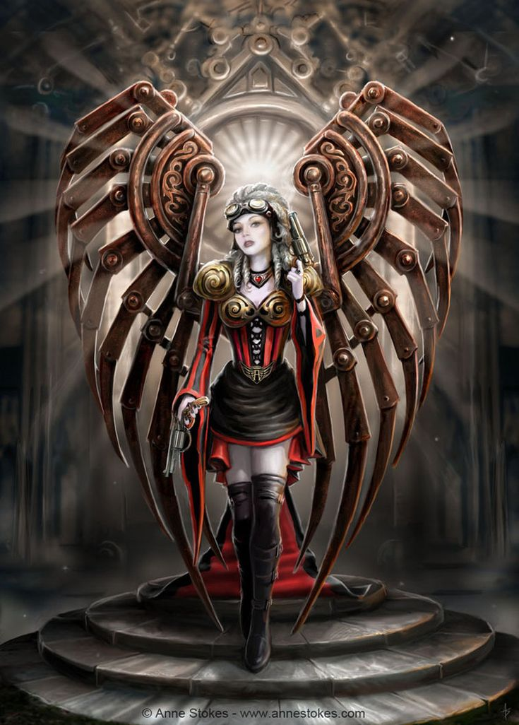 Anne Stokes | Steampunk angels, 3 | 亗 Dr. Emporio Efikz 亗