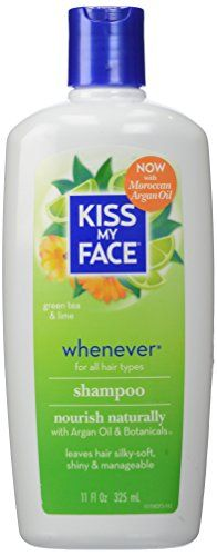 Kiss My Face Whenever Shampoo for Gentle Cleansing with Argan Oil 11 oz -- Want additional info? Click on the image.