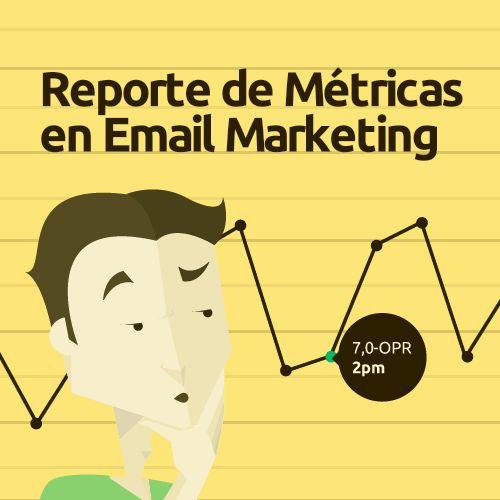 ¡Todo es medible en #EmailMarketing! Tan simple como evaluar las Métricas y Analíticas con el reporte gratuito de Doppler.