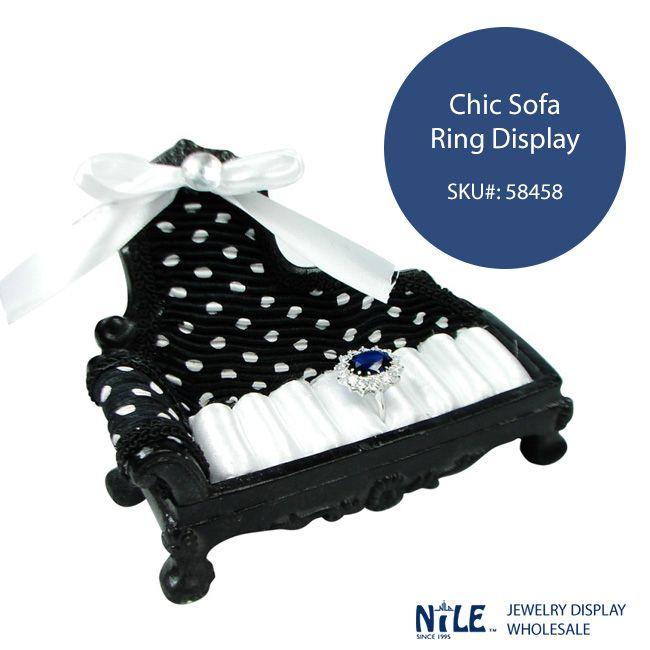 Store Your Rings In This Chic Sofa Display, More Colors Available!