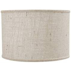24 best lampshades images on pinterest spiders lamp shades and off white burlap drum shade spider aloadofball Choice Image