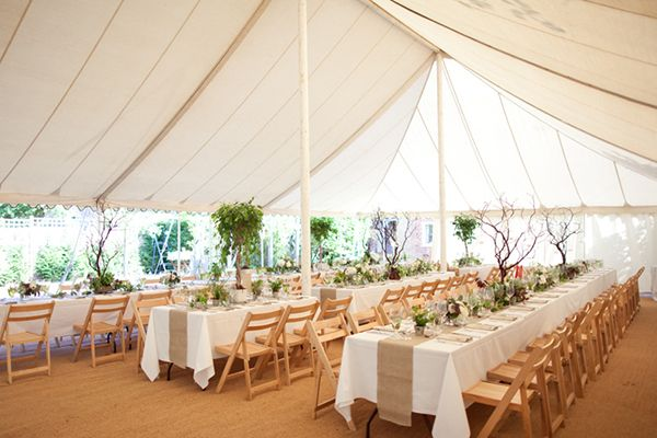 Snippet And Ink Reception Wedding Tent Outdoor