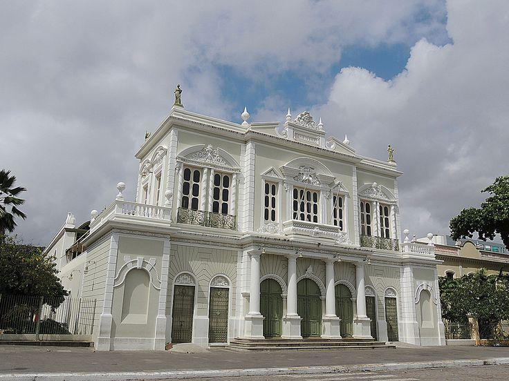 Theater José de Alencar, Fortaleza, Ceará, Brazil #ecletico #theater #teatro #neoclassic #bulding #architecture #soutamerica #brasilien
