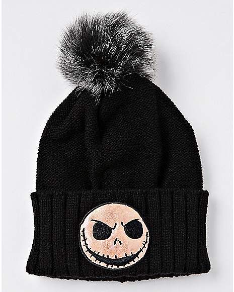 Iridescent Jack Beanie Hat - The Nightmare Before Christmas ... 07ac7f78566b